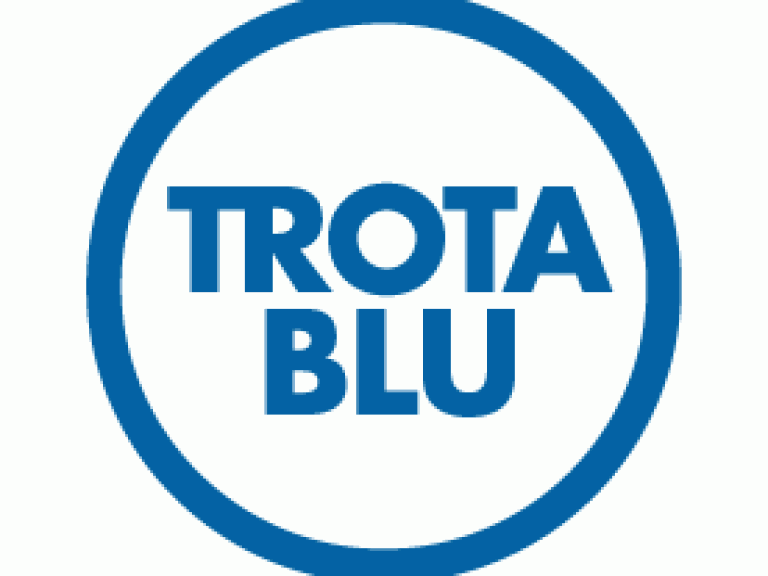 trota blu